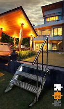 1 Modul - 20cmx100cm - Treppe Balkontreppe Aussentreppe aus Stahl Metalltreppe