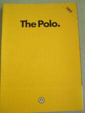 VW Polo range brochure Nov 1981