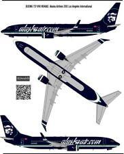 Boeing 737-800 ALASKA  decal 1144 for Zvezda