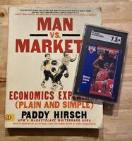 Michael Jordan SGC 7.5 NM+ 1991 Fleer Slabbed INVEST Inflation Hedge Last Dance