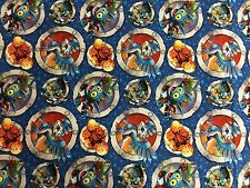 Skylanders Characters in Badges Camelot 100% cotton Fabric by the yard