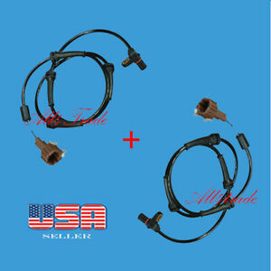 Set of 2 Rear ABS Wheel Speed Sensor Left & Right Fit Armada ,Q56 and Pathfinder