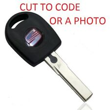 SEAT Cordoba Ibiza Inca Leon HU66 REMOTE KEY BLANK CUT TO CODE OR PHOTO NO CHIP