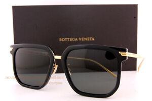Brand New Bottega Veneta Sunglasses BV 1083/SA 001 Black/Grey For Women