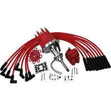 New Pro Billet Ignition Distributor W/ Coil & Wires For Mopar 273-360 LA Engines