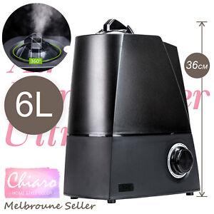 6L Air Humidifier Ultrasonic Cool Mist Steam Purifier Aroma Beauty