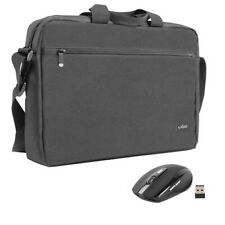 "15.6""  Black Laptop Notebook Sleeve Bag Case with wireless mouse MX1"