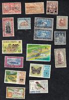Deceased Estate: Samoa (Western) 1930-40's+ Qty 17 Stamps  [SAM01]