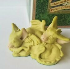 """""""Snuggles"""" Whimsical World Pocket Dragons Real Musgrave w Box and Medallion"""