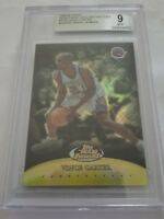 1999 Topps Finest Gold Refractors Vince Carter #TF20 Missing Serial# BGS 9 MINT