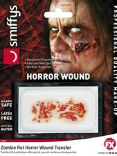 Zombie Rot Horror Wound Theatrical Make Up Halloween Prosthetic Transfer Zombie