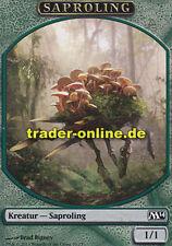 2x Spielstein - Saproling (Token - Saproling) Magic 2014 M14 Magic