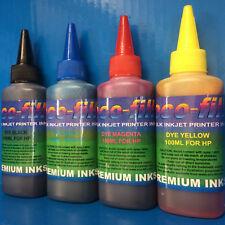 400ML ECOFILL Dye Printer Refill Ink For Refilling HP ENVY 5020 5032 Cartridges