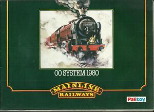 Katalog Palitoy Mainline Railrways 1980 Modelleisenbahnen in OO System