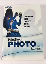 Corel PaintShop Photo Express 2010  Software For Microsoft Windows XP, Windows 7