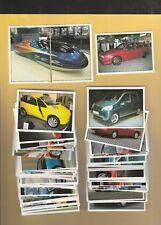 Auto 2000 Complete Sticker Set Mint + Album