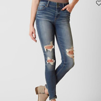 Daytrip Lynx Highrise Distressed Skinny Jeans Sz 24