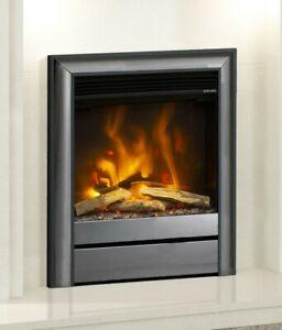 "ELECTRIC INSET FIRE MODERN LED FLAME ELGIN & HALL PRYZM 16"" CHOLLERTON TRIM 2kW"
