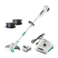 LiTHELi 40V Cordless String Trimmer w/ 2.5AH Battery & Charger Adjustable Head