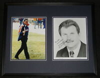 Mike Ditka Signed Framed 16x20 Photo Set Middle Finger 1985 Chicago Bears JSA