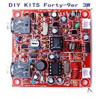 DIY KITS Forty-9er 3W HAM Radio QRP CW HF Radio TRANSCEIVER 7.023MHz Telegraph