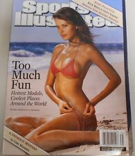 PETRA NEMCOVA * ON COVER OF WINTER 2003 SPORTS ILLUSTRATED MAGAZINE (LABEL ON )