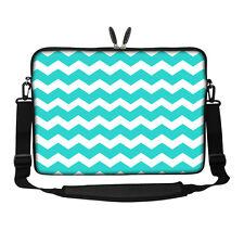 """15.6"""" Laptop Computer Sleeve Case Bag w Hidden Handle & Shoulder Strap 3094"""