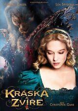 La Belle Et La Bete/ Kraska a Zvire 2014 DVD Czech,French lang.