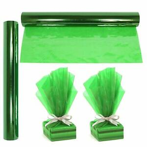 """Cellophane Wrap Roll Green 