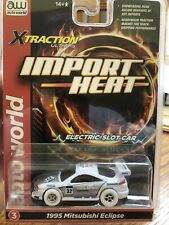 Brand New iwheels 1995 Mitsubishi Eclipse xtraction ho scale slot car Ultra G