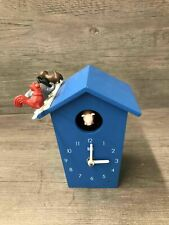 Kookoo Animal House Cuckoo Clock Blue Tested