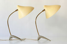 Set of Two TABLE LAMPS by LOUIS KALFF for COSACK, 1950s | Arteluce SARFATTI Era