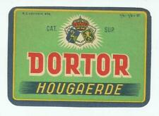 étiquette de bière 92
