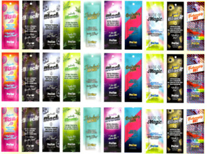 NEW PRO TAN SUNBED SALON TANNING LOTION CREAM RESALE PACKAGE DEAL 30 SACHETS