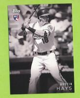 2018 Topps On Demand Black & White Rookie - Austin Hays (#9)  Tampa Bay Rays
