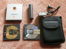 Panasonic Sj-Mj5 MiniDisc digital audio system, Silver!