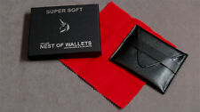 Super Soft Deluxe Nest of Wallets by Nick Einhorn and Alan Wong - Magic Tricks