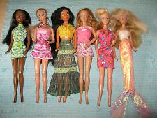Barbie Puppen 6 Stück mit Skipper Jasmin Christie Midge 90er
