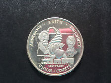 1968 Abundance Faith Ingenuity Union Co. Illinois Silver Art Medal D9146