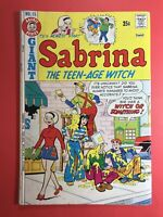 SABRINA THE TEEN-AGE WITCH #15 GIANT Archie Series 1973 Sharp!