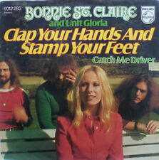 """7"""" BONNIE ST.CLAIRE Clap Your Hands And Stamp Your Feet"""