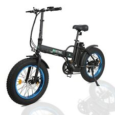 Folding Electric Fat Tire Bike Beach Bicycle City Ebike 20