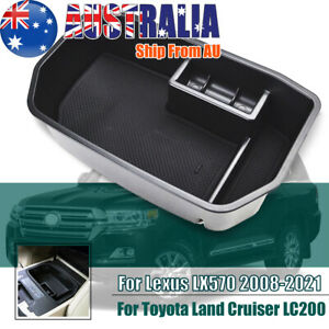 For Toyota Land Cruiser LC200 Lexus LX570 Center Console Armrest Storage Box