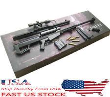 1/6 Scale Metal Barrett M82A1 Sniper Rifle Gun Weapon Arms Toys Model U.S.A.