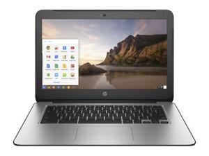 "HP 14 G3 14"" Chromebook 2.1GHz 4GB 16GB Chrome OS  in Black"