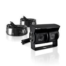 Dual Weatherproof Rearview Backup Camera, IR Night Vision, Commercial Grade