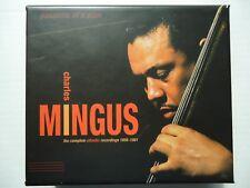 cd box charles mingus the complete atlantic recordings 1956-1961 € 50 (sealed)
