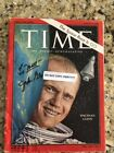 Senator+John+Glenn+Signed+1962+Time+Magazine+Astronaut