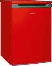 Bomann Vollraumkühlschrank VS 354 rot, 130 Liter, Abtauautomatik, NEU