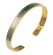 Bracelet magnétique en cuivre borée avec des aimants